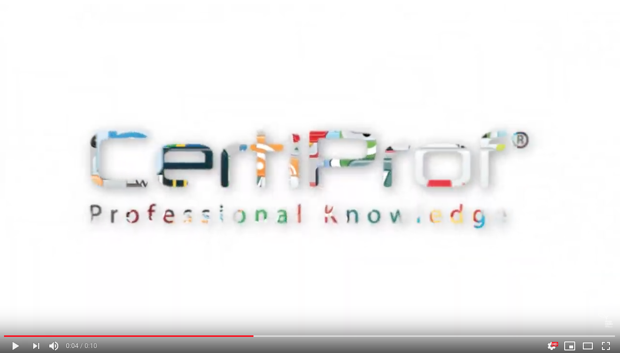 CertiProf Logo Animation